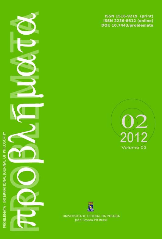 Visualizar v. 3 n. 2 (2012): DOSSIÊ ESFERA PÚBLICA