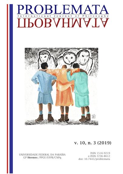 Visualizar v. 10 n. 3 (2019): EDIÇÃO ESPECIAL: Dossiê do GT Ética e Cidadania - ANPOF 2018