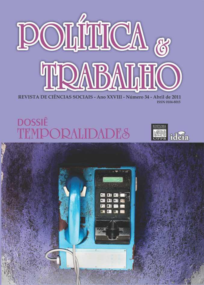 Visualizar REVISTA POLÍTICA & TRABALHO - EDIÇÃO 34