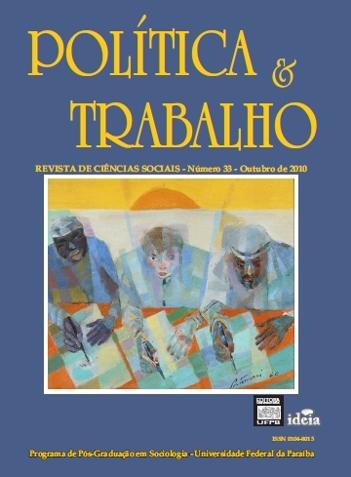 Visualizar REVISTA POLÍTICA & TRABALHO - EDIÇÃO 33