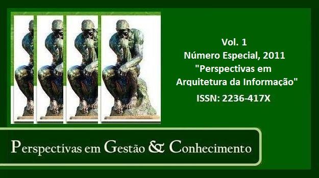 Visualizar Vol. 1, Número Especial (2011): Perspectivas em Arquitetura da Informação