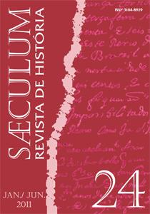 Visualizar Sæculum (n° 24 - jan./jun. 2011) - DOSSIÊ HISTÓRIA E CULTURAS POLÍTICAS