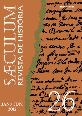 Visualizar Sæculum (n° 26 - jan./jun. 2012) - DOSSIÊ HISTÓRIA E QUESTÃO AGRÁRIA