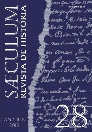 Visualizar Sæculum (n° 28 - jan./jun. 2013) - DOSSIÊ HISTÓRIA E HISTÓRIA DA ARTE