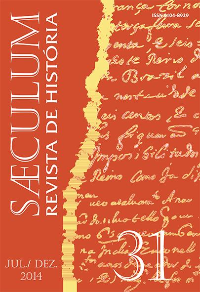Visualizar Sæculum (n° 31 - jul./dez. 2014) - DOSSIÊ HISTÓRIA E SABERES MÉDICOS