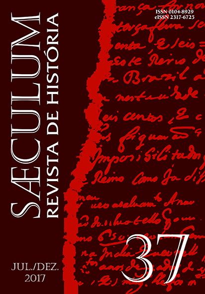 """Visualizar Sæculum (nº 37- jul./dez. 2017) - Número Temático """"História Cultural"""""""