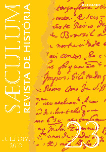 Visualizar Sæculum (n° 23 - jul./dez. 2010) - DOSSIÊ HISTÓRIA E MEMÓRIA
