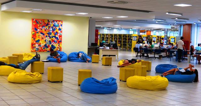 Espaço BiblioRelax - Biblioteca Central da Universidade Federal da Paraíba