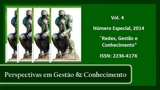 Visualizar Vol. 4, Número Especial (2014): Redes, Gestão e Conhecimento