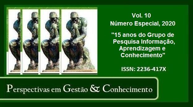 Visualizar v. 10 n. Especial (2020): 15 ANOS DO GRUPO DE PESQUISA INFORMAÇÃO, APRENDIZAGEM E CONHECIMENTO
