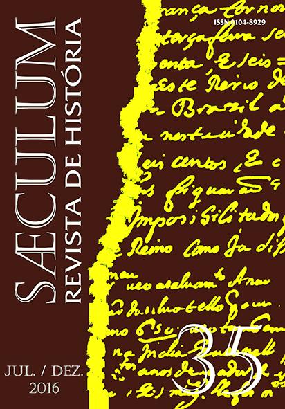 """Visualizar Sæculum (nº 35 - jul./dez 2016) - Número Temático """"Patrimônio e Centros Históricos"""""""
