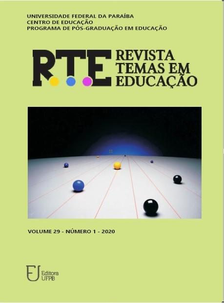 Visualizar v. 29 n. 1 (2020): RTE (jan.-abr.)