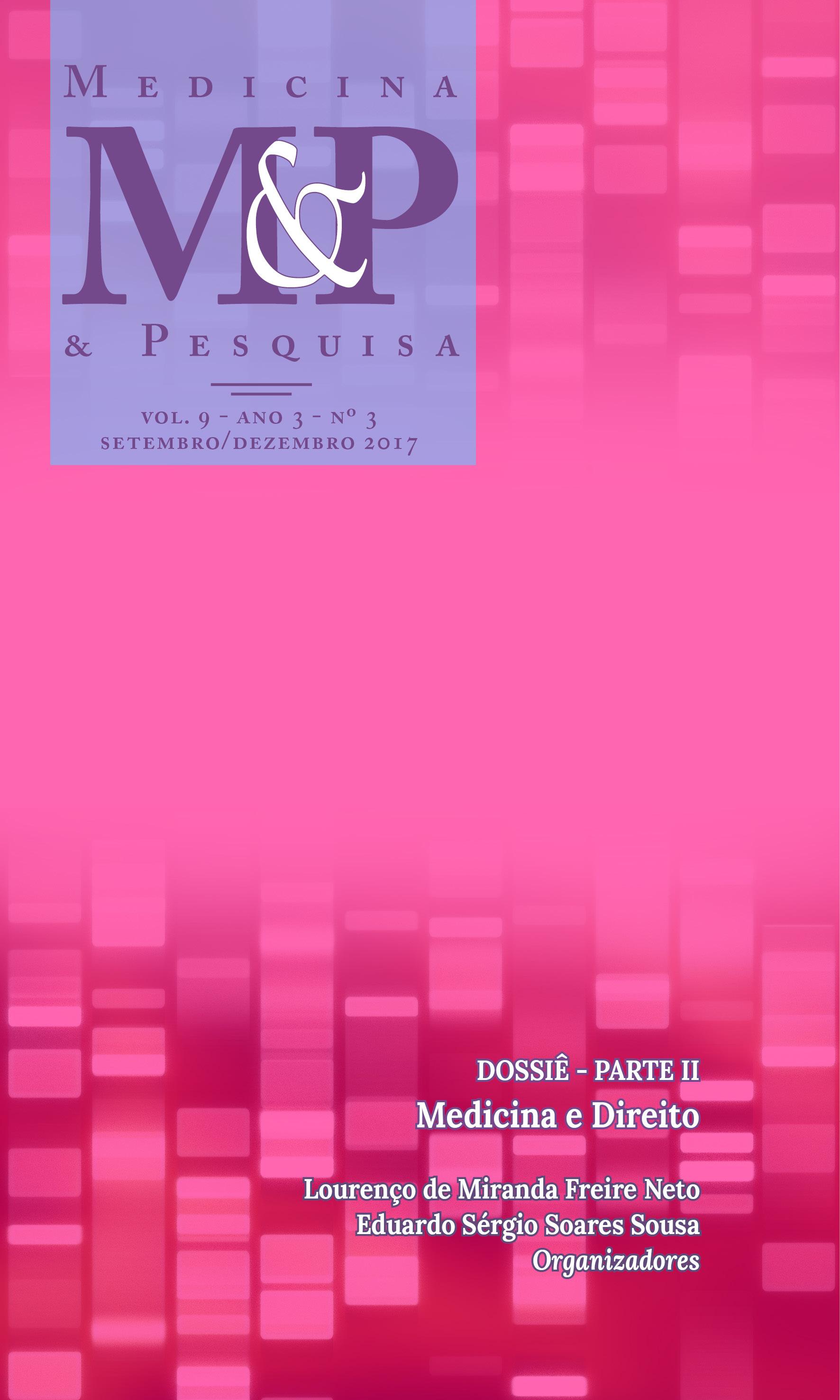 Visualizar v. 9 n. 3 (3): Medicina & Pesquisa - SETEMBRO/DEZEMBRO 2017
