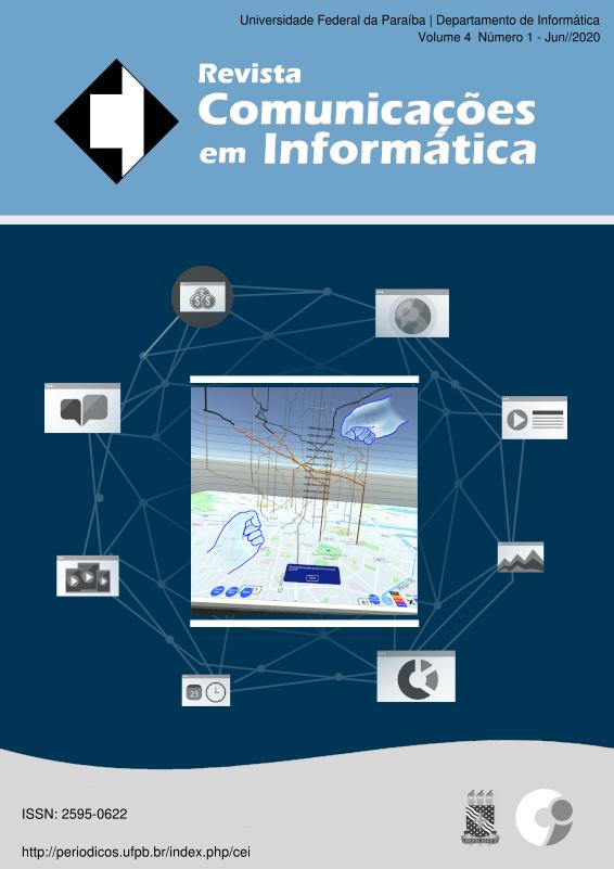 Capa: Ações por meio de gestos intuitivos em um cubo espaço-temporal (pg. 9)