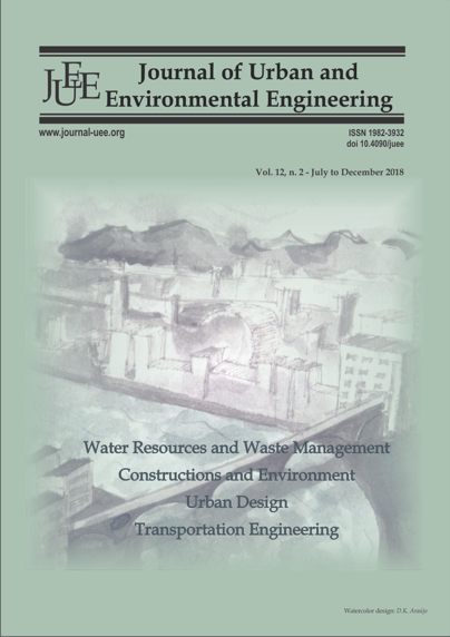 Journal of Urban and Environmental Engineering (JUEE)