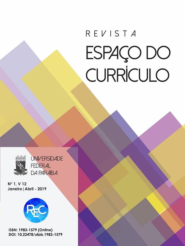 Visualizar v. 12 n. 1 (2019): CURRÍCULO: possibilidades atuais para educação