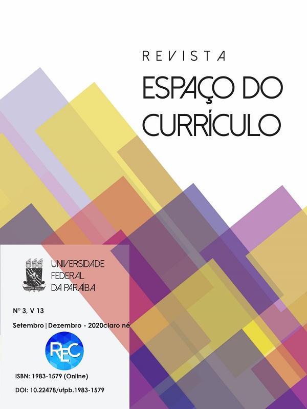 Visualizar v. 13 n. 3 (2020): CURRÍCULOS, DOCÊNCIA E COTIDIANOS: possibilidades emancipatórias em tempos de regulação autoritária