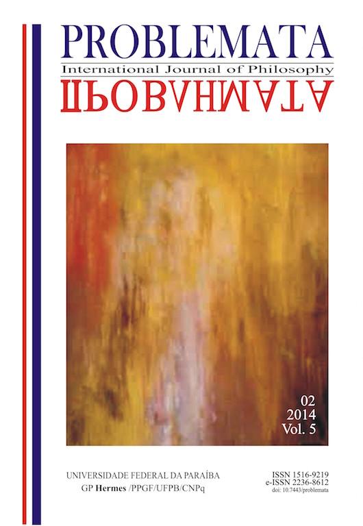 Problemata - Volume 5, número 2, 2014