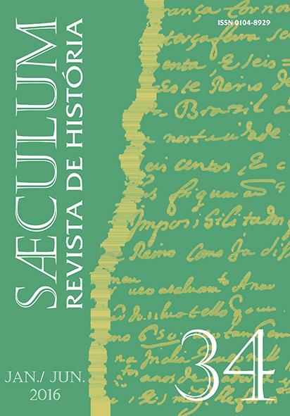 Sæculum (n° 34 - jan./ jun. 2016)