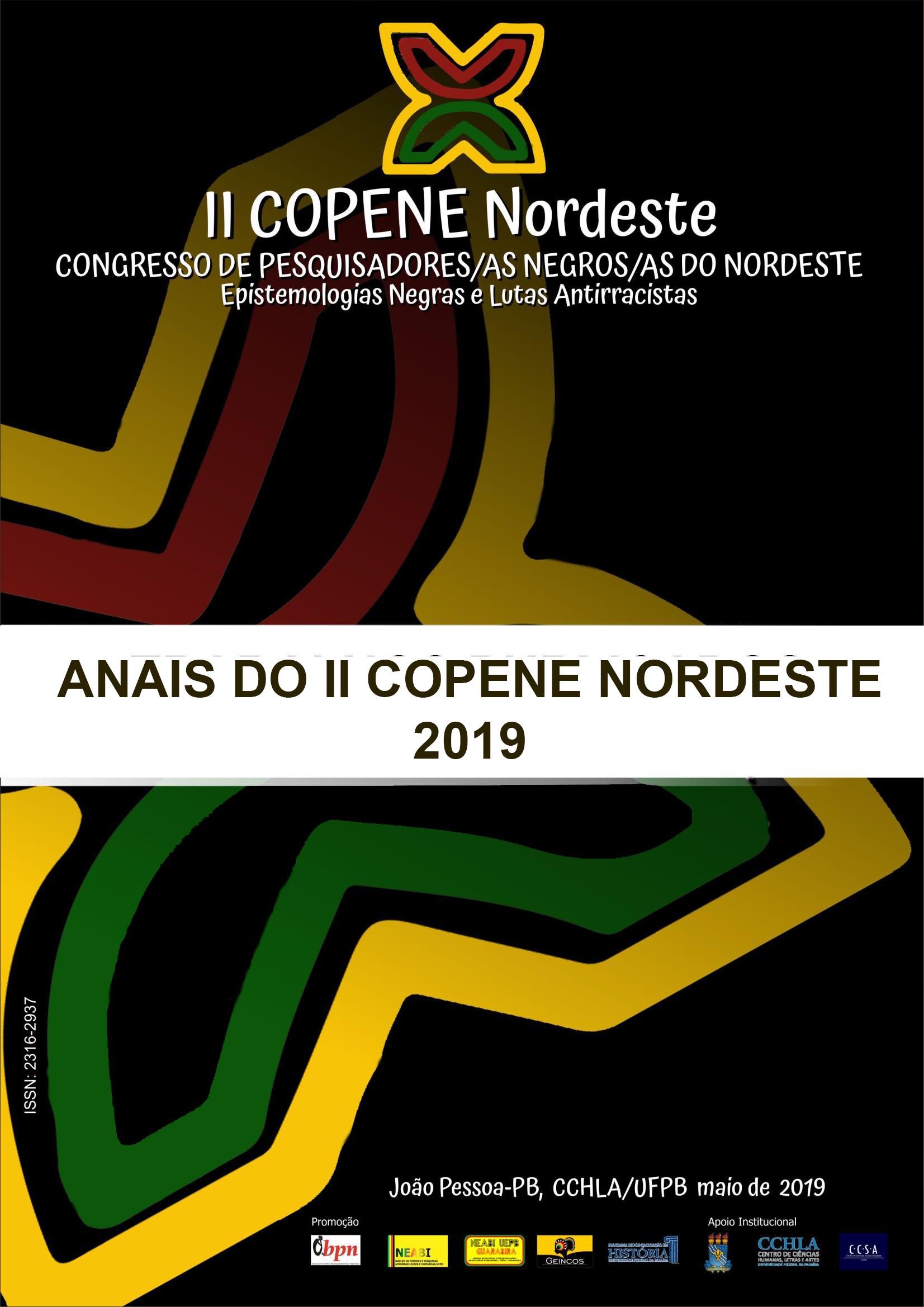 Visualizar v. 6 n. 2 (2019): Anais do II COPENE Nordeste