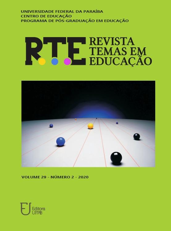 Visualizar v. 29 n. 2 (2020): RTE (maio-ago.) - Fluxo Contínuo