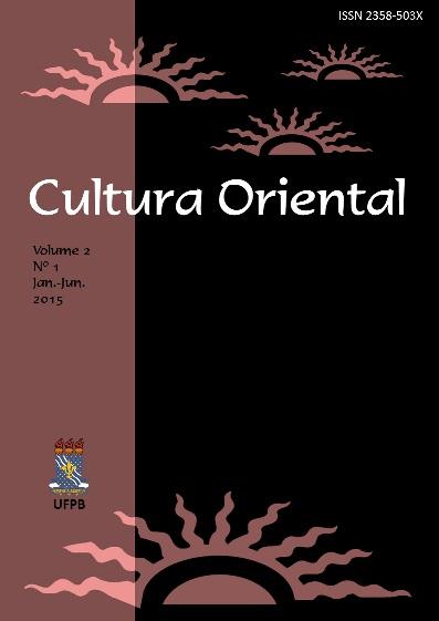 Cultura Oriental, volume 2, número 1, janeiro-junho de 2015