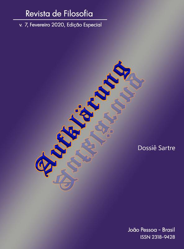 Visualizar v. 7 n. esp. (2020): Dossiê Sartre